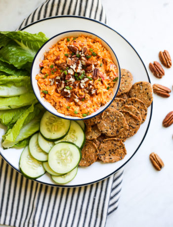 Buffalo Pecan Pimiento Cheese