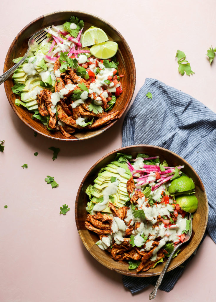 Ultimate Chicken Taco Salad The Defined Dish