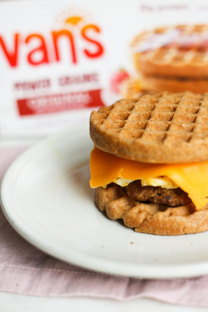 Gluten-Free Waffle Breakfast Sandwich