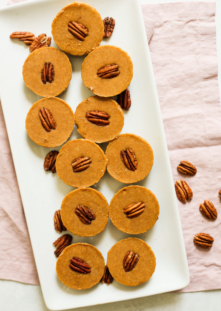 No-Bake Pumpkin-Pecan Pie Paleo Bites