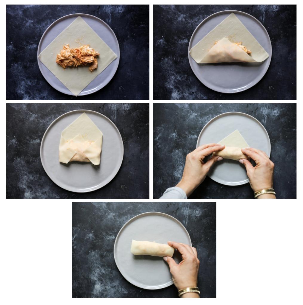 5-ingredient Jalapeño-Chicken Egg Rolls