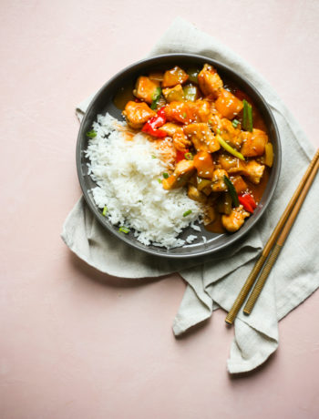 Paleo Sweet and Sour Chicken Stir Fry