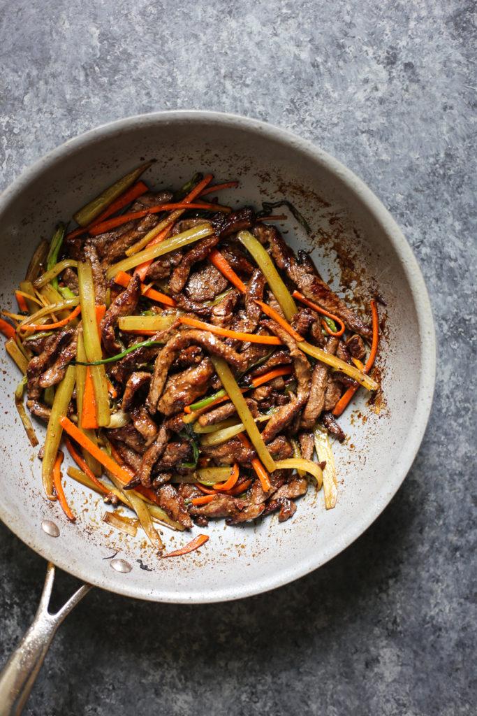 Sichuan Beef Stir Fry