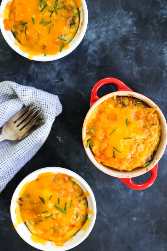 individual breakfast casseroles