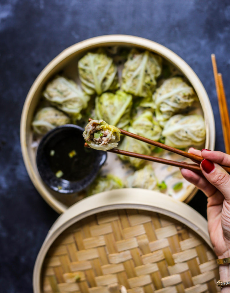 Pork Cabbage Dumplings