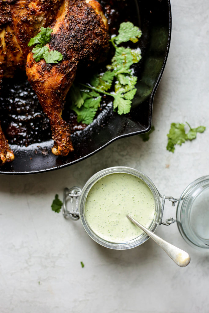 Peruvian-Inspired Whole Roasted Chicken