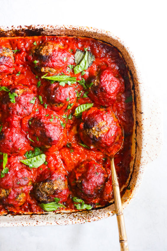 epic whole30 baked meatballs