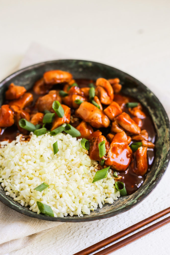 Whole30 Bourbon Chicken