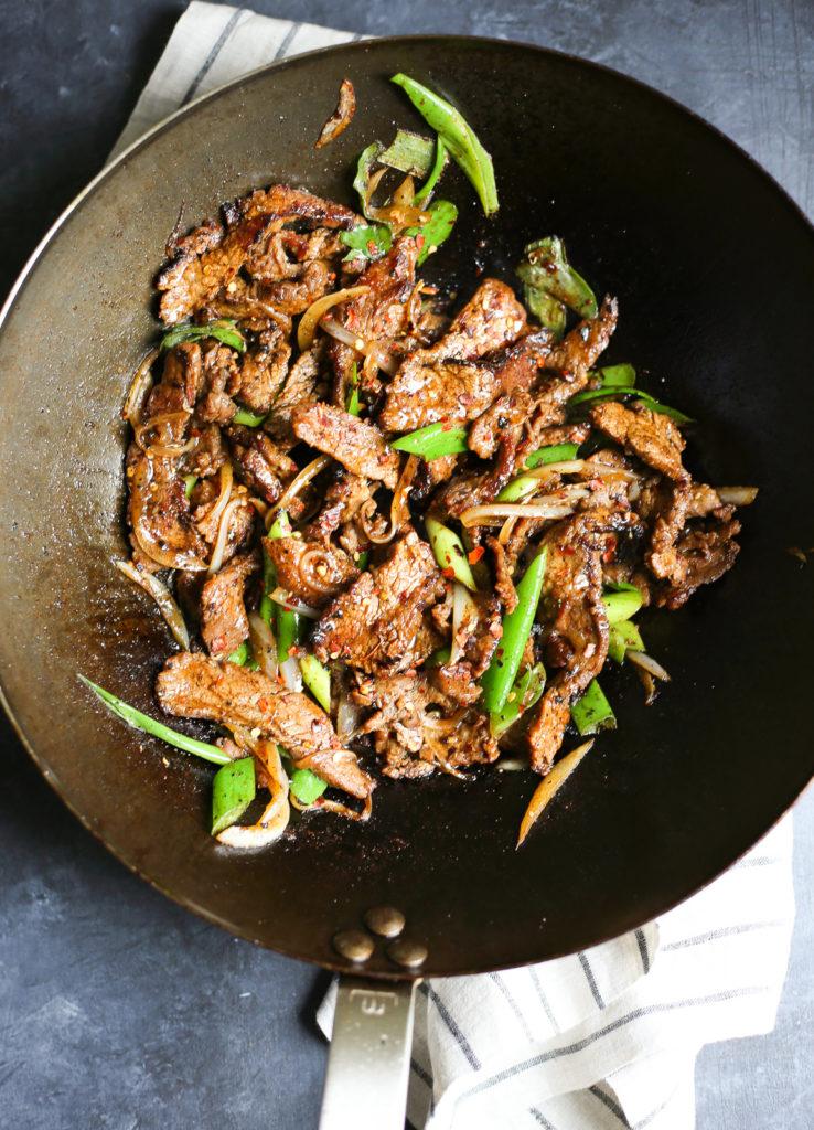 Cumin Beef Stir Fry