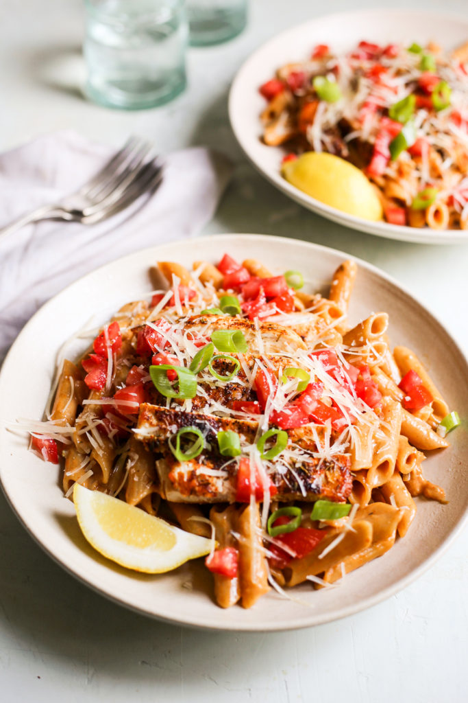 One-Pot Cajun Chicken Pasta