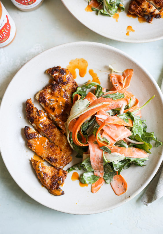 Buffalo-Style Chicken Milanese