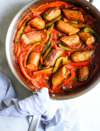 Sausage and Bell Pepper Skillet