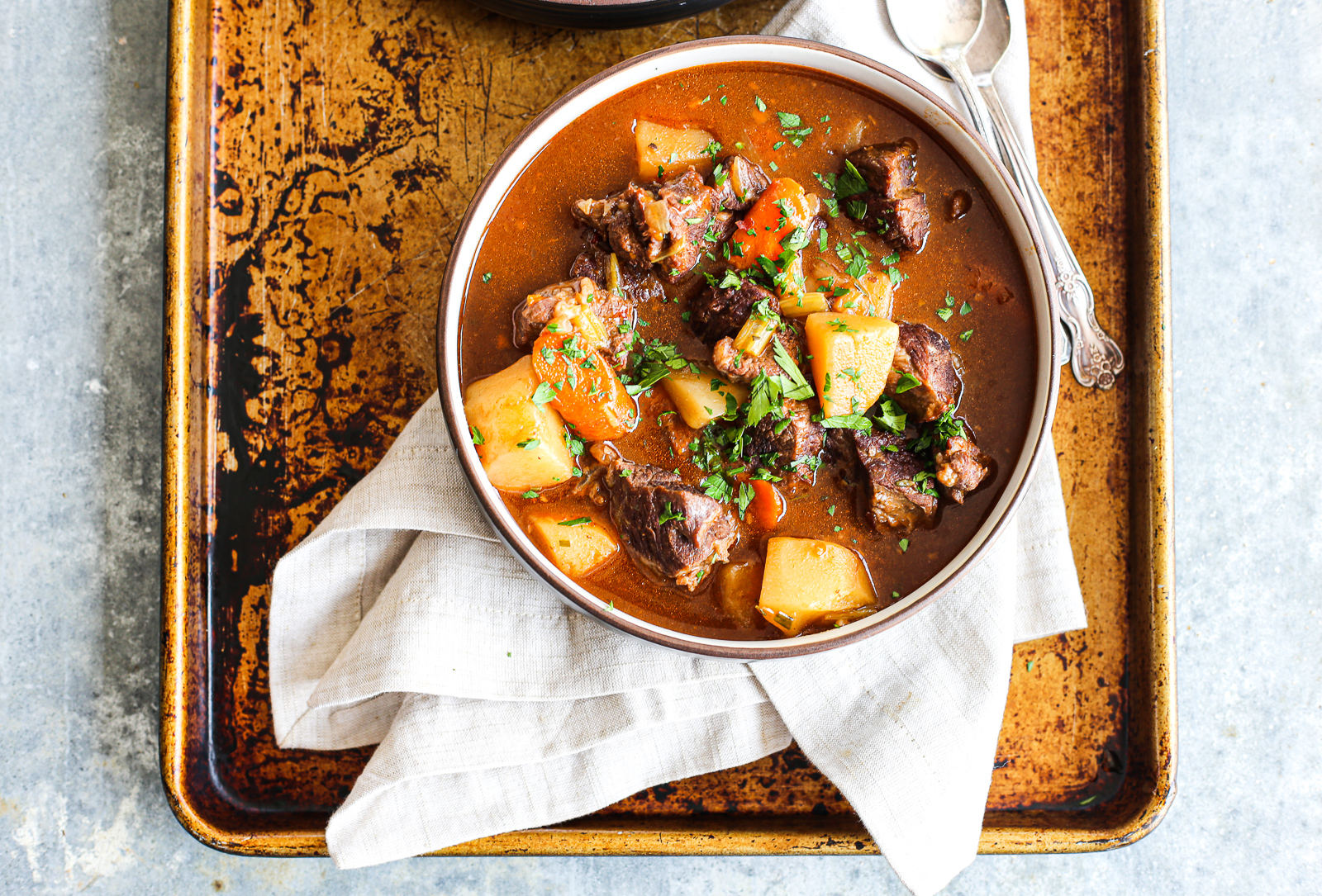 Instant Pot Lamb Stew