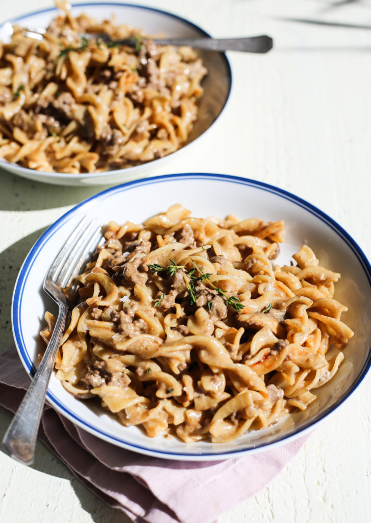 one pot hamburger helper beef stroganoff