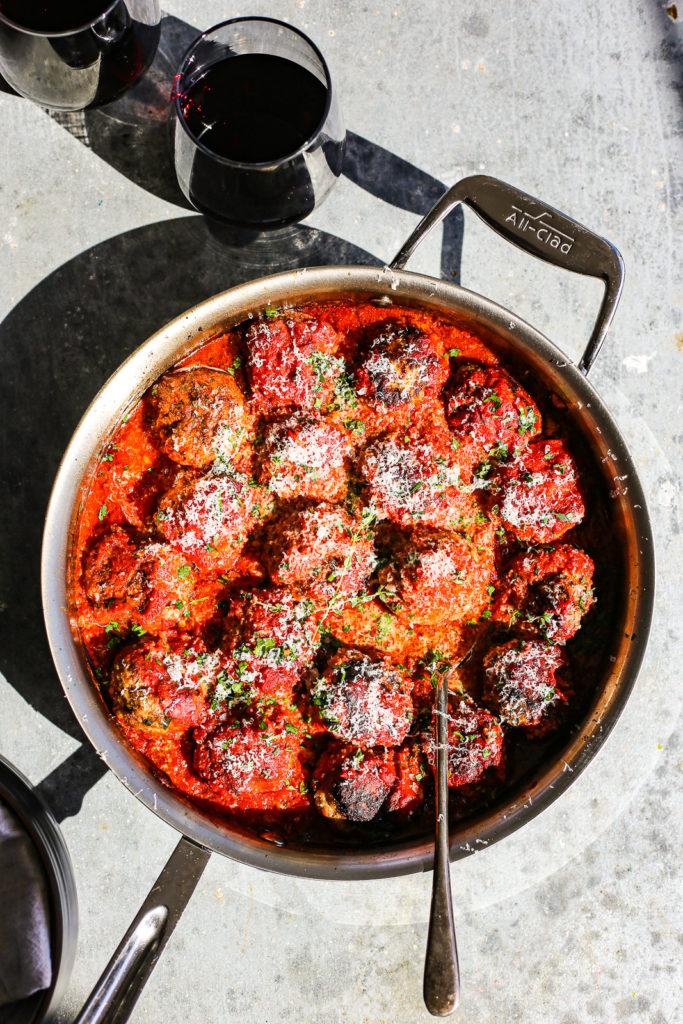 meatballs al forno