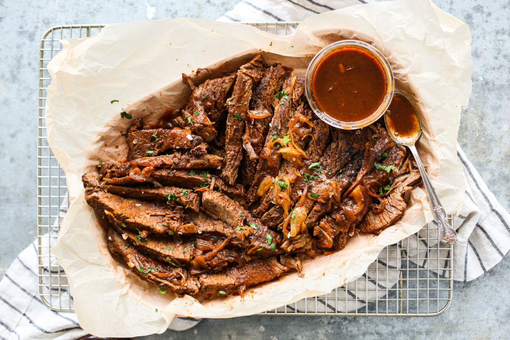 bourbon braised brisket