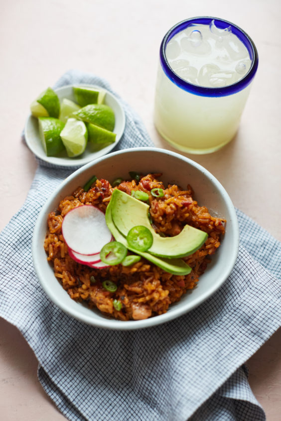 one-pan mexican chicken and rice