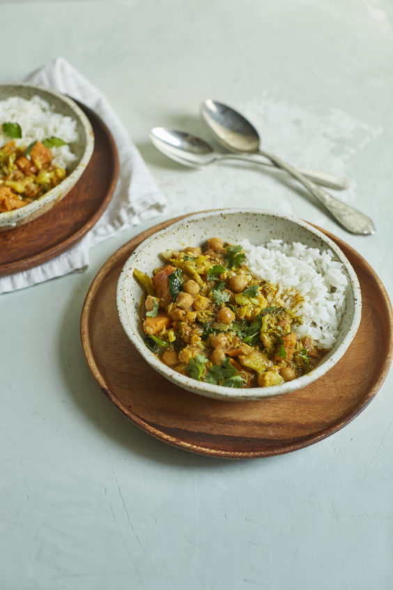 indian-style veggie curry
