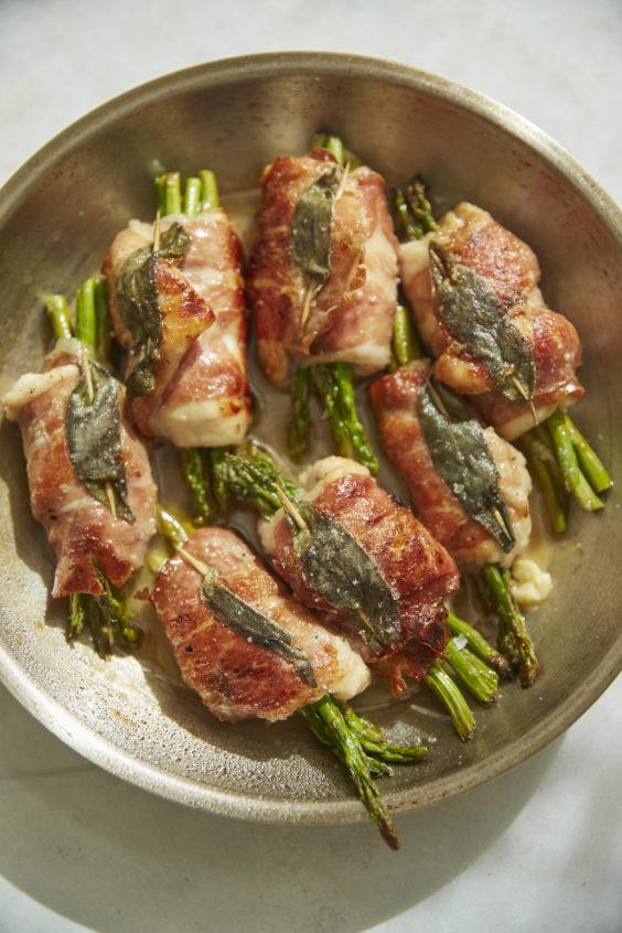 chicken saltimbocca roll-ups