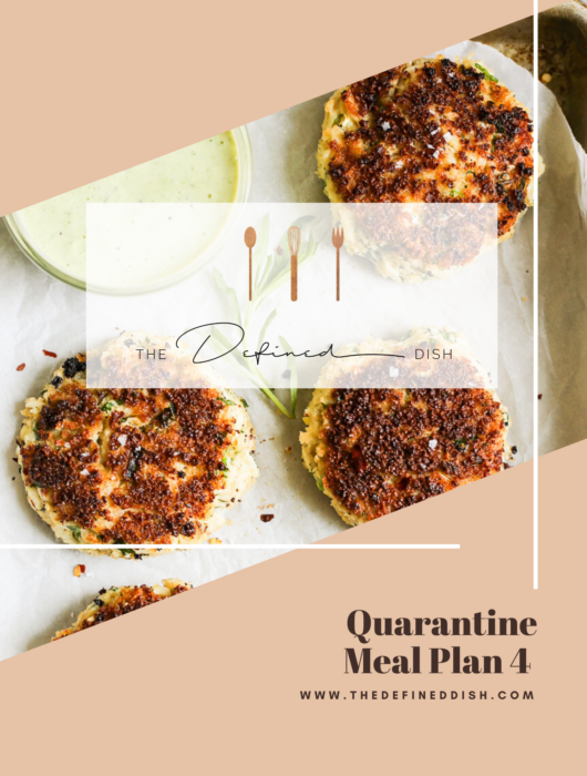 Quarantine Meal Plan 4
