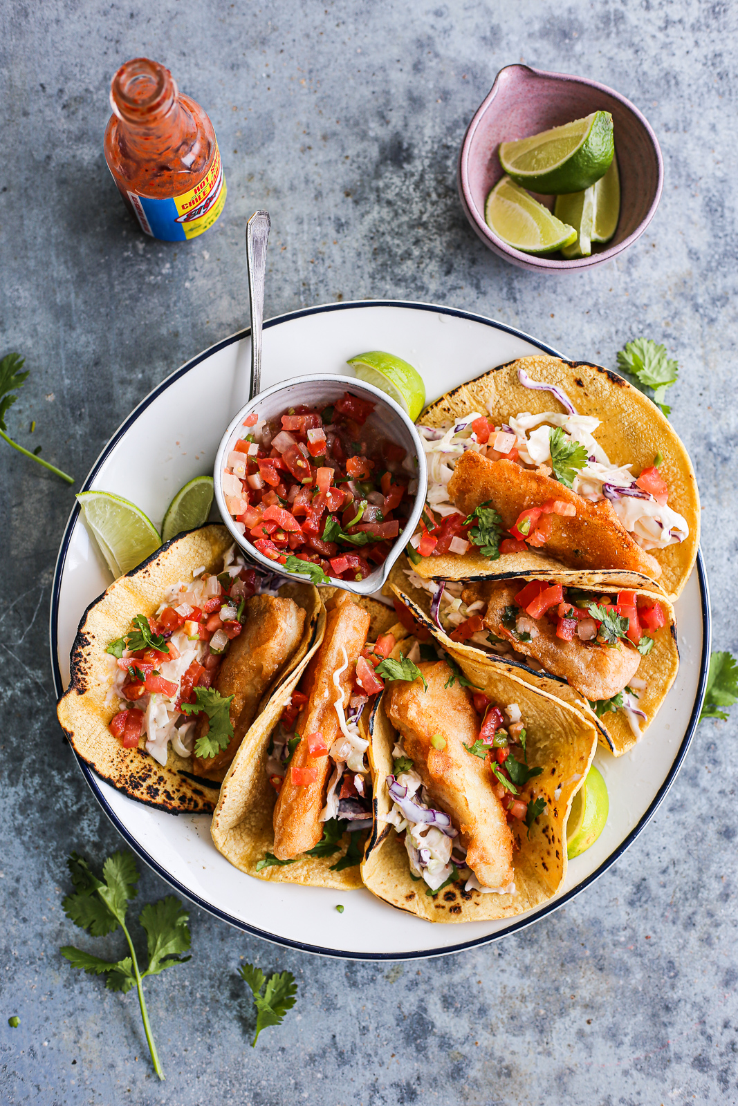 Paleo Battered Fish Tacos