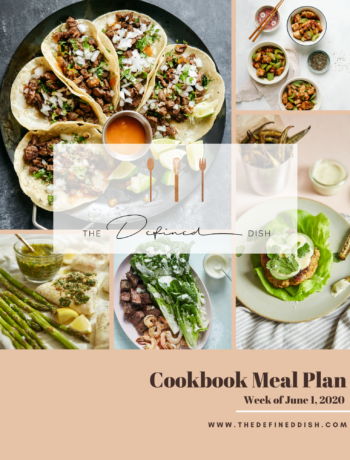 Cookbook Meal Plan