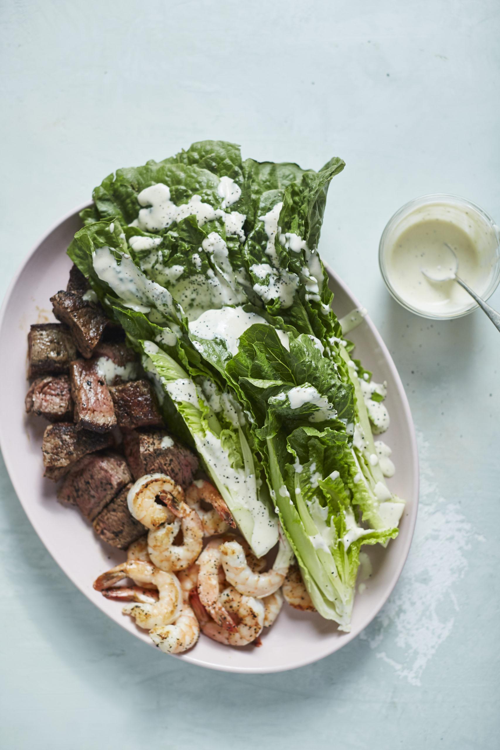 steak house caesar salad