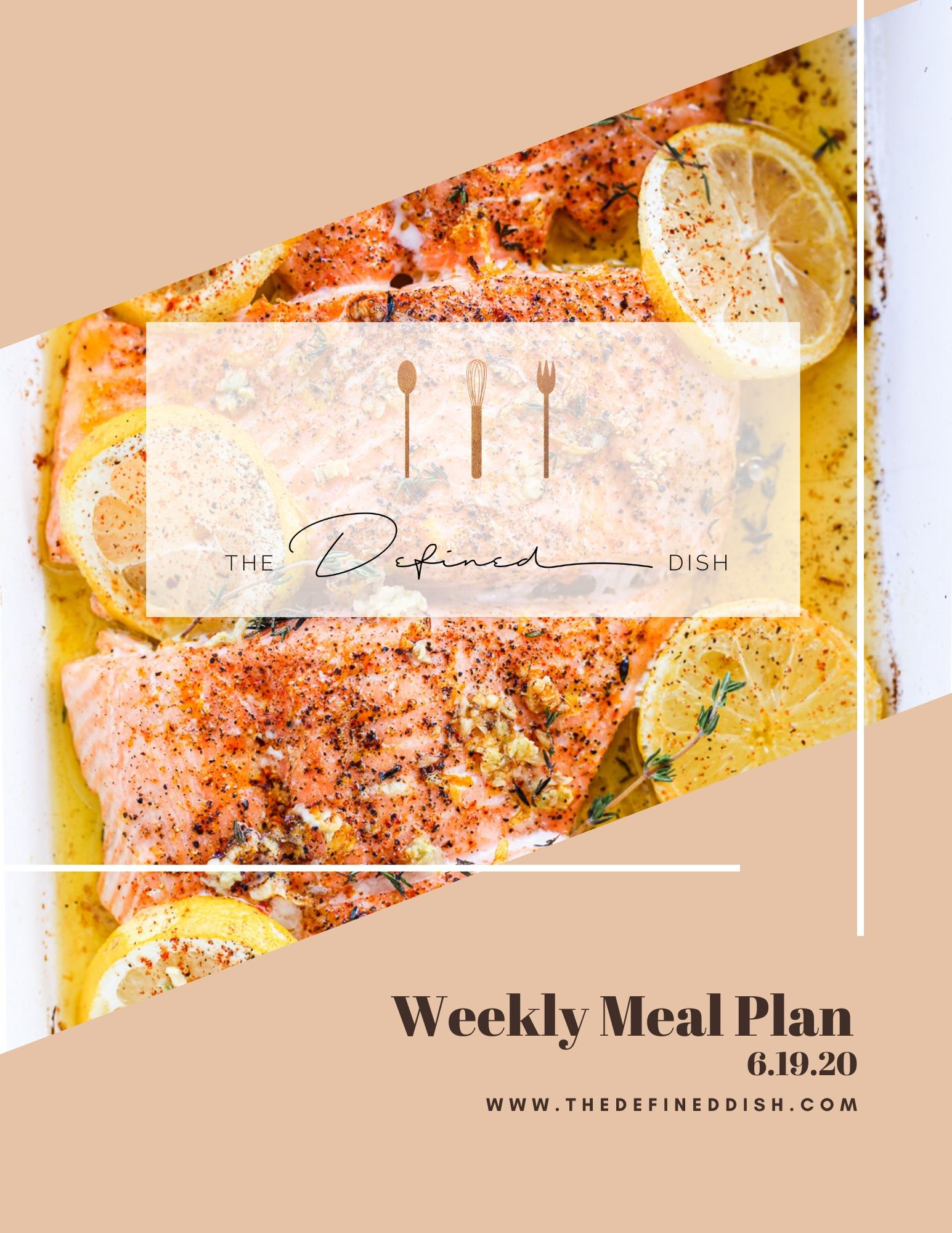 Weekly Meal Plan 6.19.20