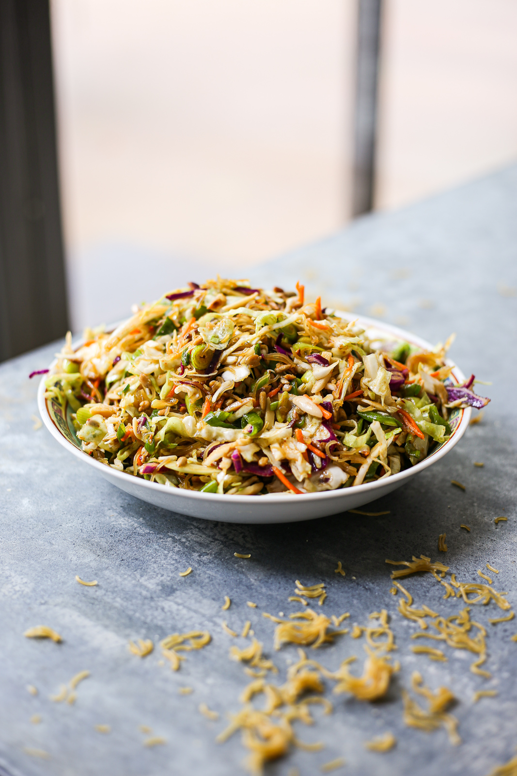 Crunchy Ramen Noodle Salad