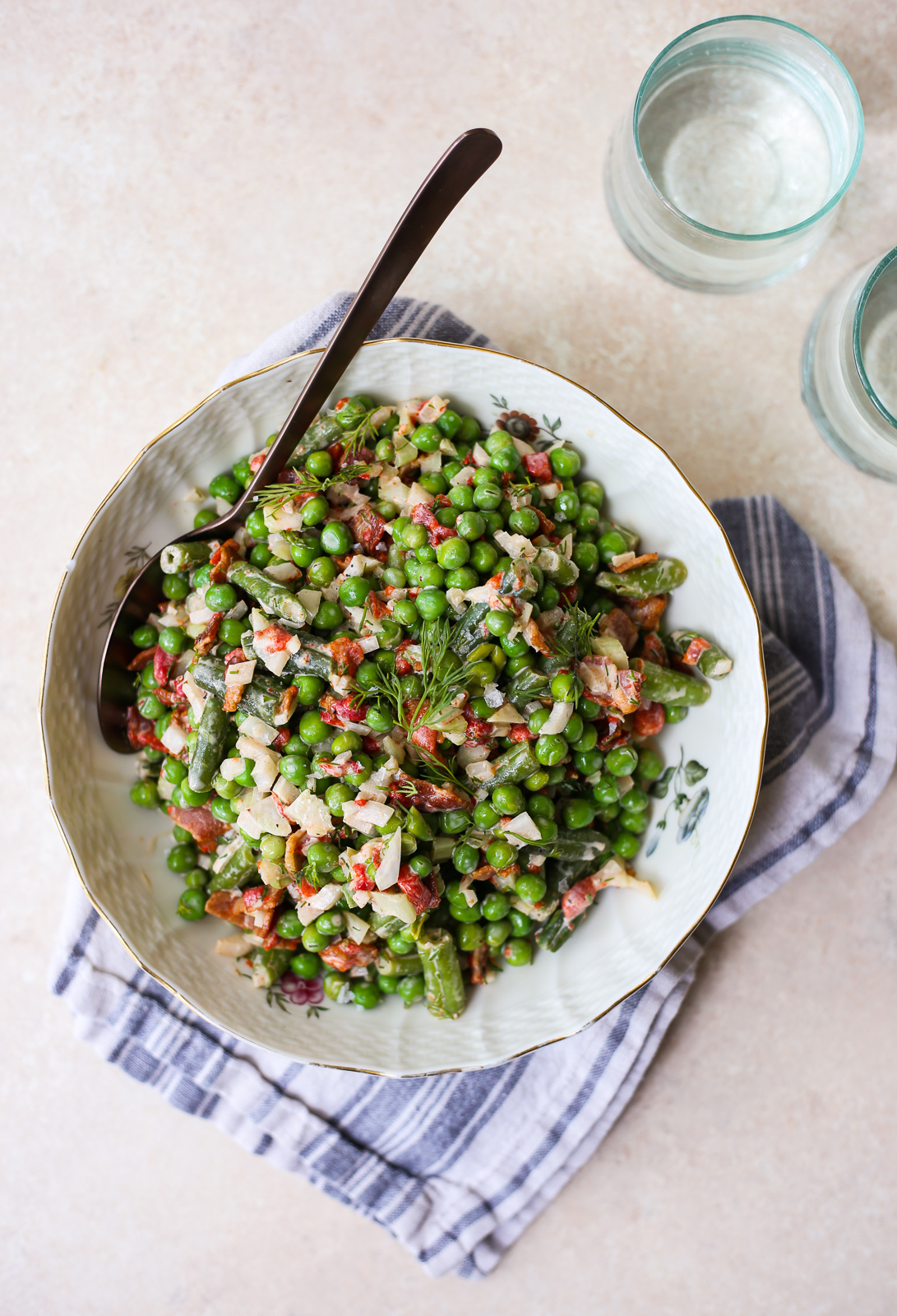 Southern-Style Pea Salad