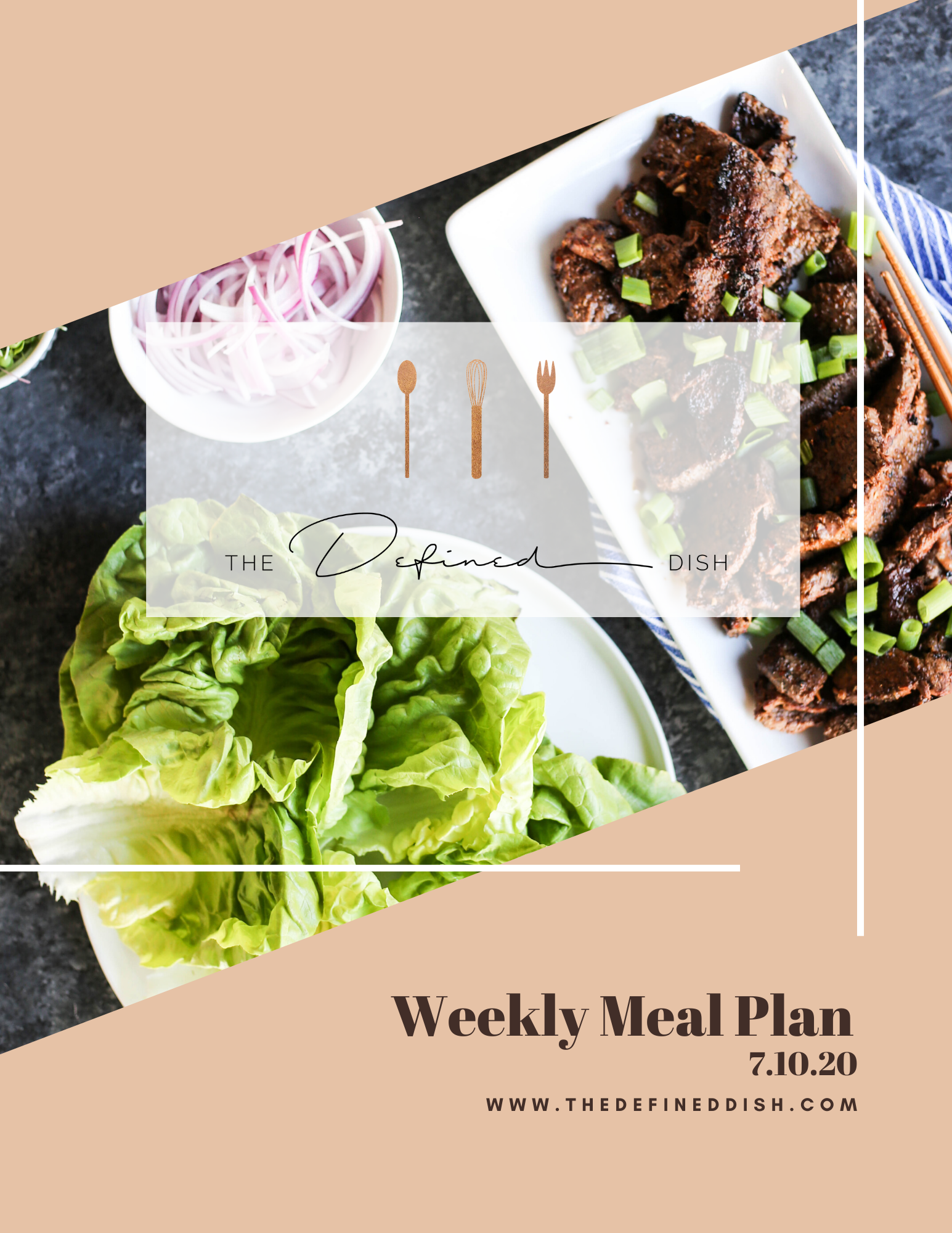 Weekly Meal Plan 7.10.20