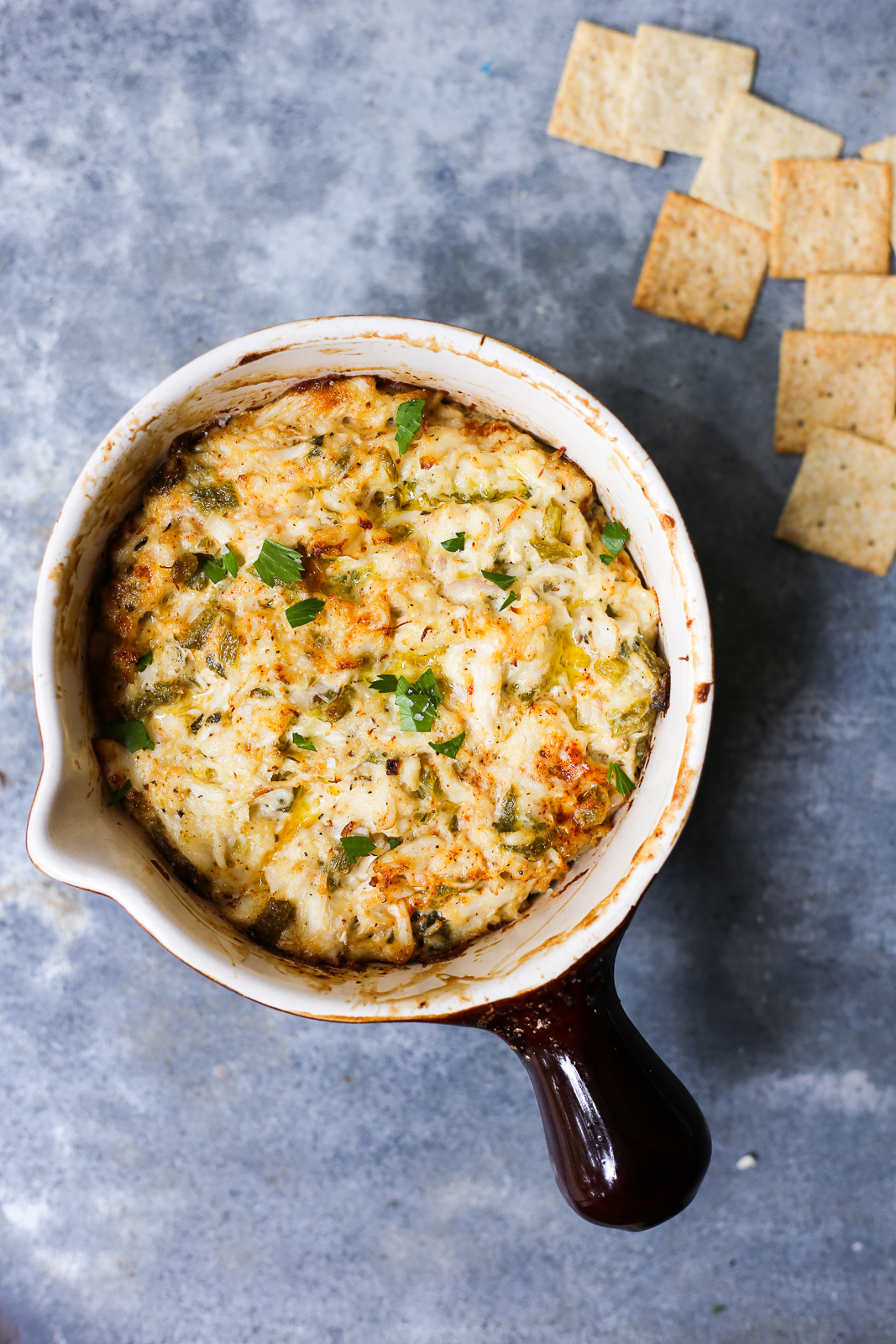Hatch Green Chile Crab Dip