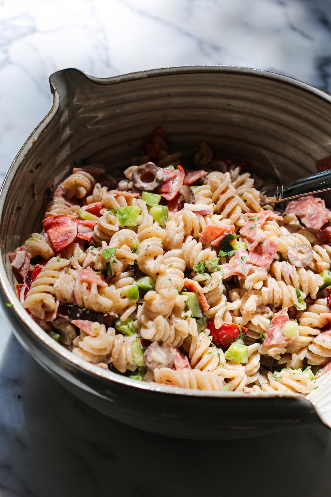 Paleo Italian Pasta Salad