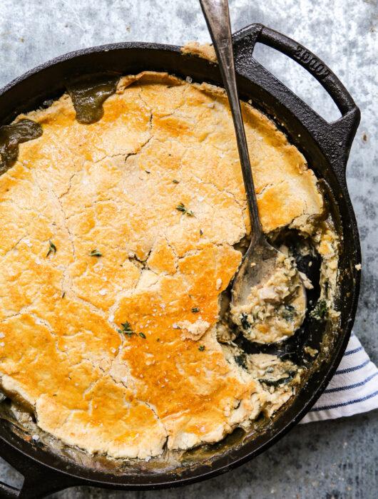 Paleo Chicken and Mushroom Pot Pie