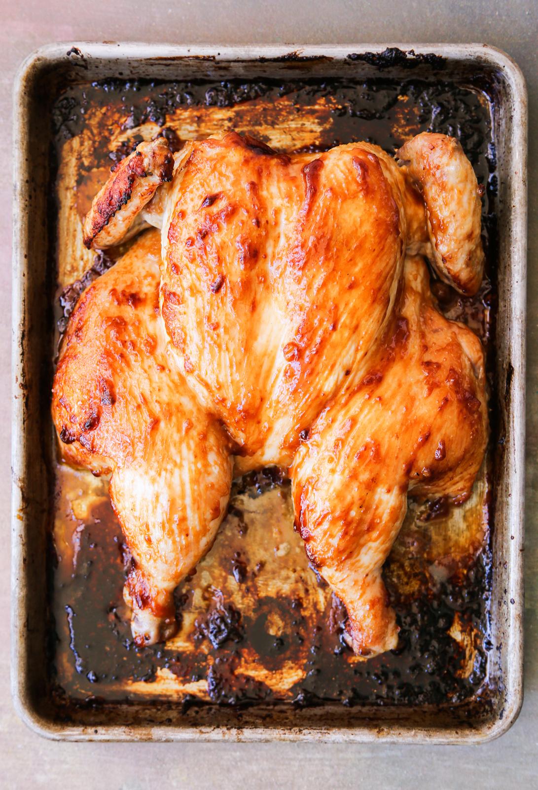 Miso Roasted Chicken