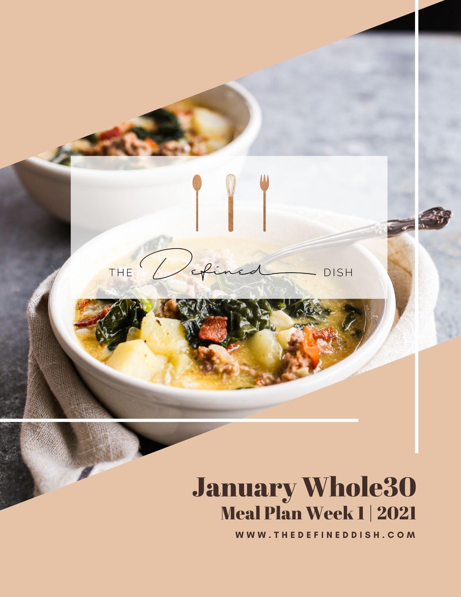 Jan W30 Meal Plan1