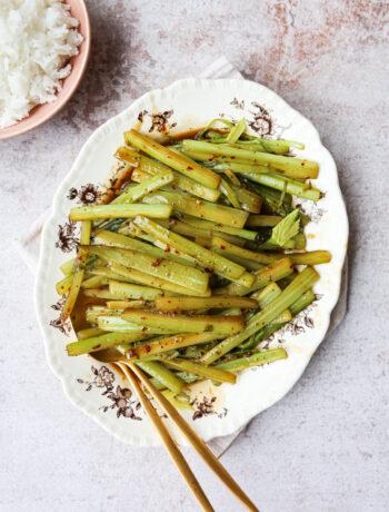 Spicy Celery Stir Fry