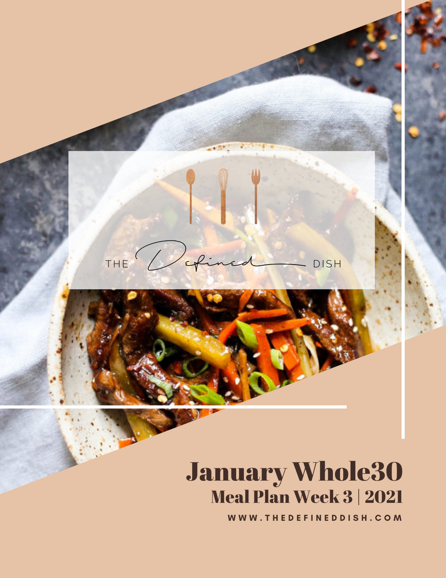 Jan W30 Meal Plan 3