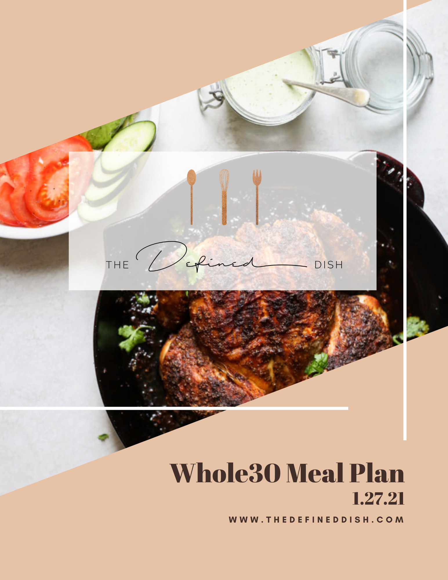 Whole30 Meal Plan {1.27.21}