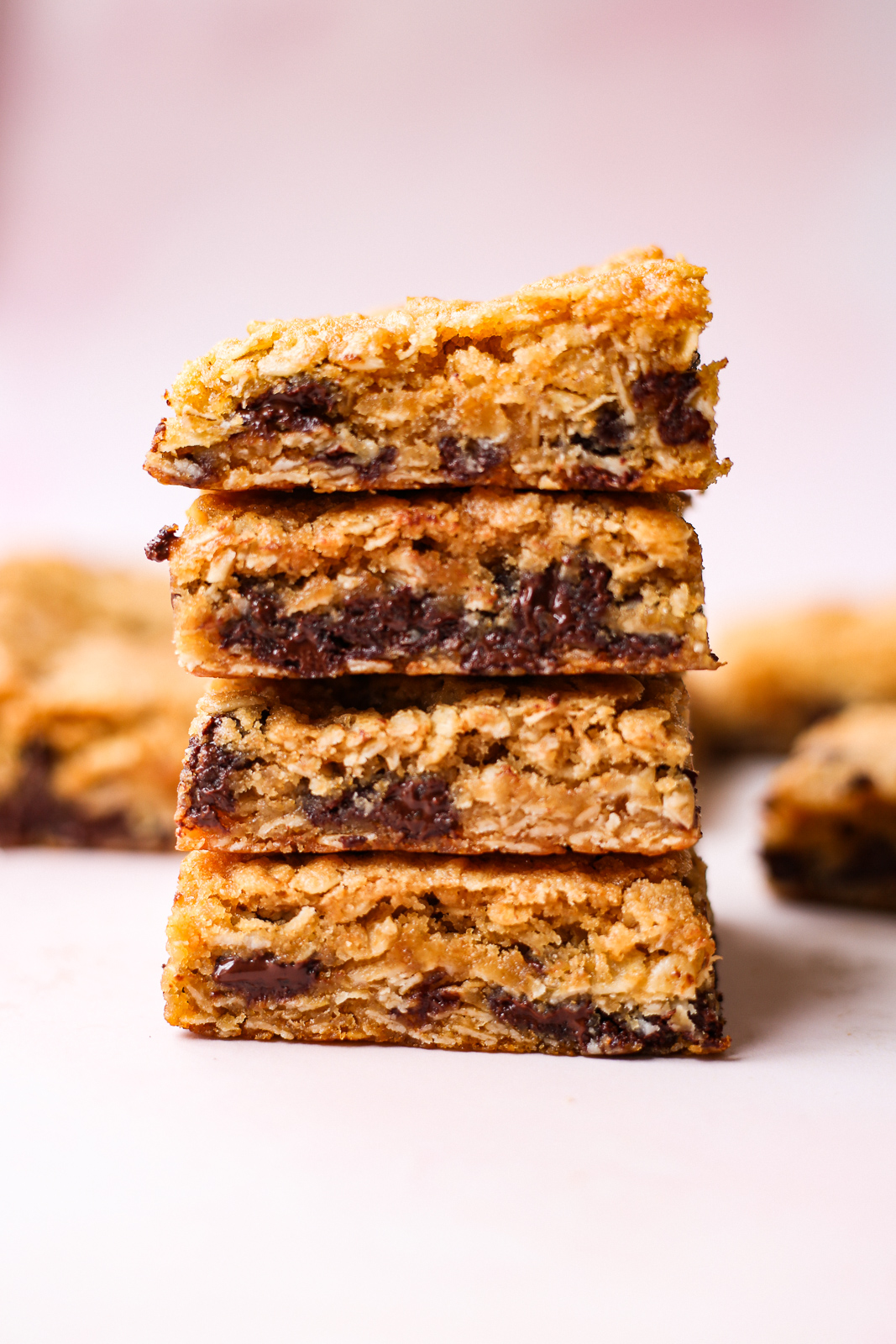 GoGo's Oatmeal Chocolate Chip Bars
