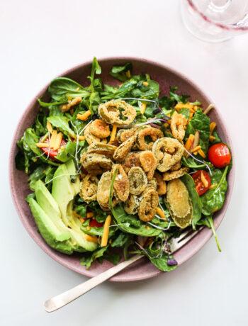 Bottle-Cap Jalapeños Salad