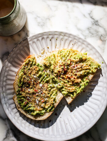 Avocado Tahini Toast with Za'atar