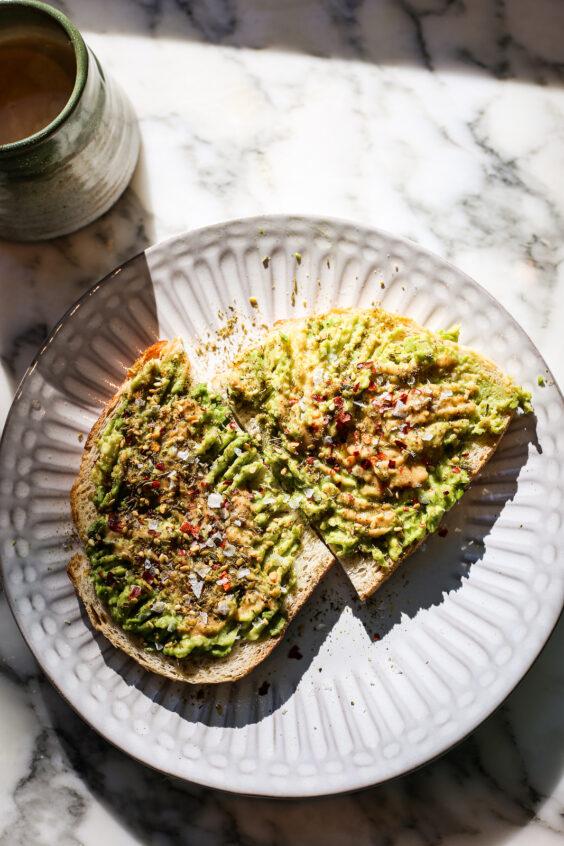 Avocado Tahini Toast with Za'atar