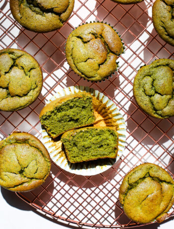 Spinach and Banana Blender Muffins
