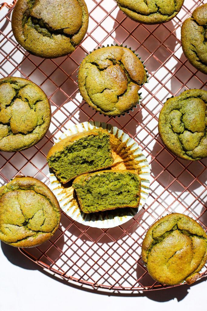 Spinach and Banana Blender Muffins