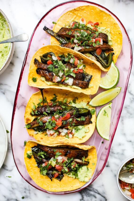 Grilled Portobello Mushroom Tacos