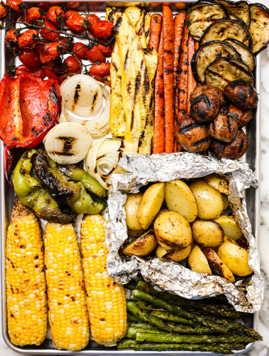 Vegetable Grilling Guide