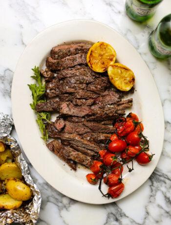 Greek Grilled Steaks