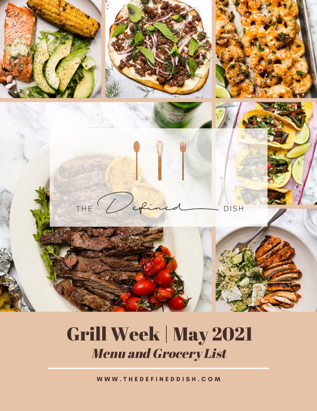 Grill Week Prep