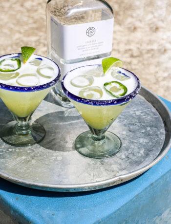 Spicy Skinny Margarita